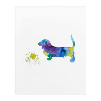 Basset hound art