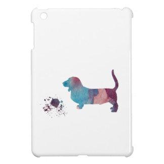 Basset hound art iPad mini case