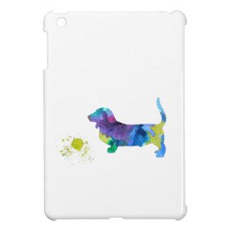 Basset hound art iPad mini cover