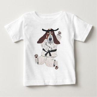 Basset Hound Black Belt Expert Baby T-Shirt