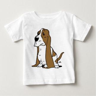 Basset hound cartoon baby T-Shirt