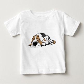 Basset Hound cartoon dog Baby T-Shirt
