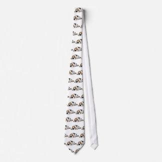Basset Hound cartoon dog Tie