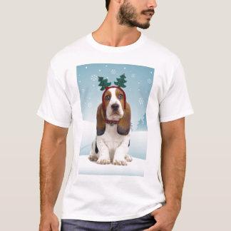 Basset Hound Christmas T-Shirt