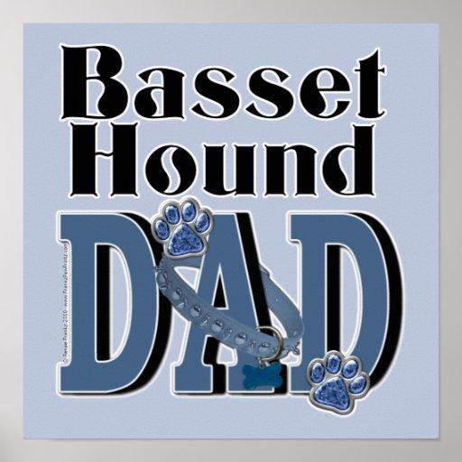 Basset Hound DAD Posters