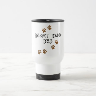 Basset Hound Dad Travel Mug