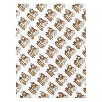 Basset Hound Daddy's Helper Tablecloth