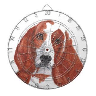 Basset Hound Dartboard