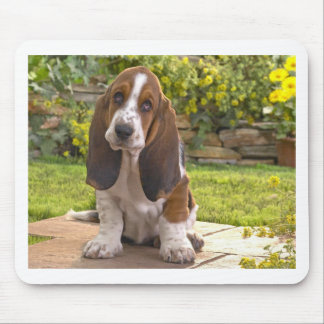 Basset Hound Dog Mouse Pad