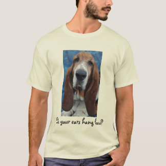 Basset Hound Ears Mens T-Shirt