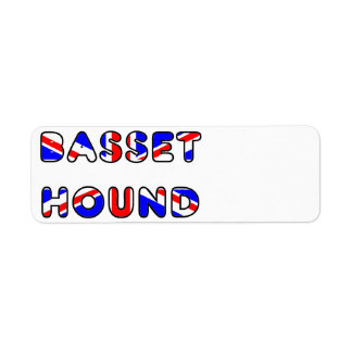 basset hound flag in name