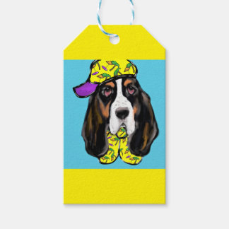 Basset Hound Gift Tags