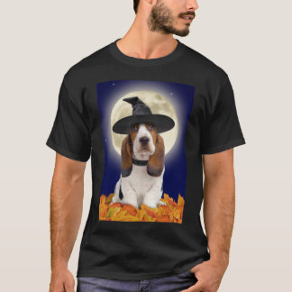 Basset Hound Halloween T-Shirt