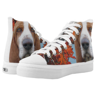 Basset Hound High Tops