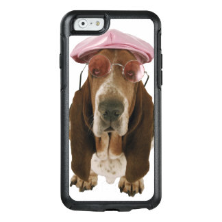 Basset hound in sunglasses and cap OtterBox iPhone 6/6s case
