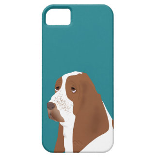 Basset Hound iPhone SE + iPhone 5/5S, Barely There Case For The iPhone 5