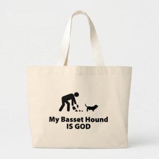 Basset Hound Jumbo Tote Bag