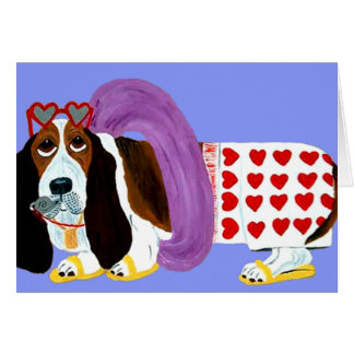 Basset Hound Lifeguard Card