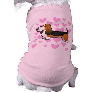 Basset Hound Love Doggie T-shirt
