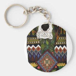 Basset Hound love Keychain
