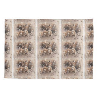 Basset hound pillow case