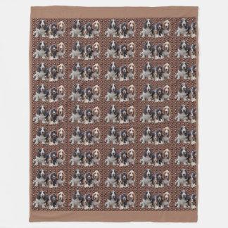 Basset Hound Plush Blanket