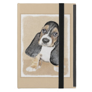 Basset Hound Puppy Cover For iPad Mini