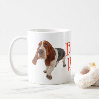 Basset Hound Puppy Dog Red Love Coffee Mug