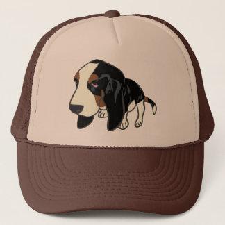 BASSET HOUND PUPPY TRUCKER HAT