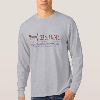Basset Hound Rescue Long Sleeve Men's Shirt
