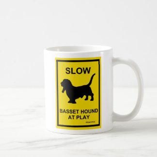 Basset Hound Slow At Play Mug