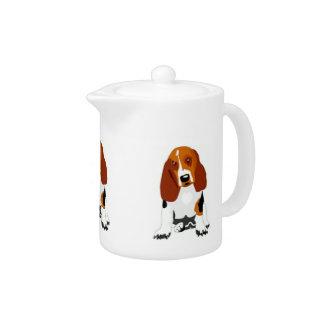 Basset Hound Teapot