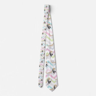 Basset Hound Tie (Zig Zag)