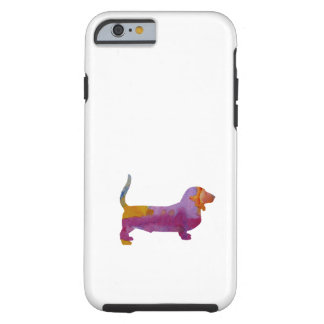 Basset Hound Tough iPhone 6 Case