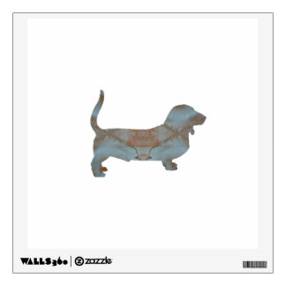 Basset Hound Wall Decal