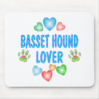 BASSET LOVER MOUSE PAD
