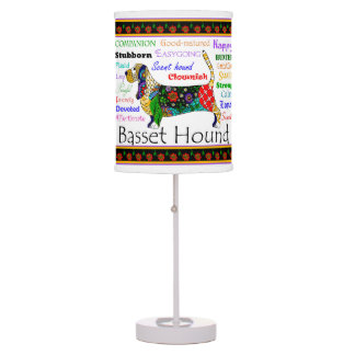 Basset Traits Lamp