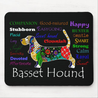 Basset Traits Mousepad