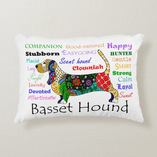 Basset Traits Pillow