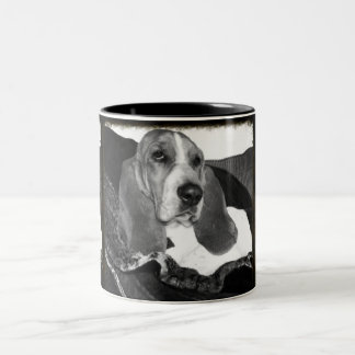 Basset Two-Tone Coffee Mug
