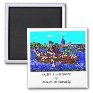 BASSET & WASHINGTON Magnet