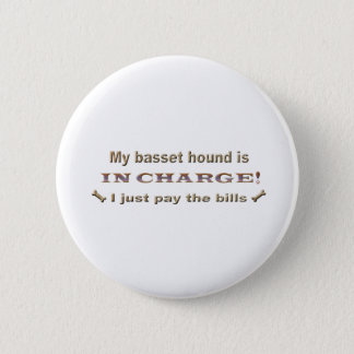 bassethound 2 inch round button
