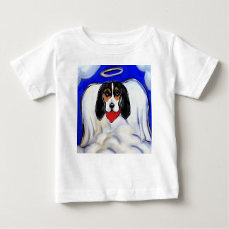 Bassett Hound Angel Baby T-Shirt