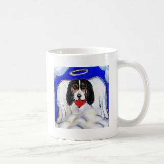 Bassett Hound Angel Coffee Mug