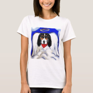 Bassett Hound Angel T-Shirt