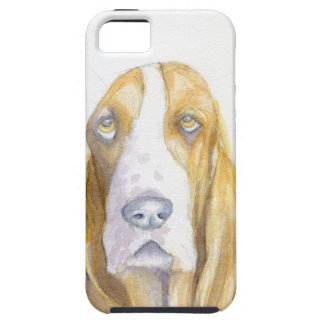 Bassett hound case for the iPhone 5