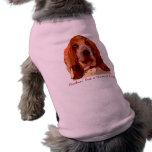 Bassett Hound Dog Sweater  in Bright Colours Doggie T Shirt