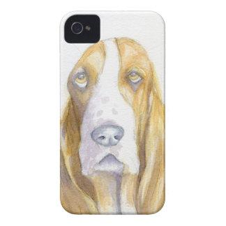 Bassett hound iPhone 4 Case-Mate cases