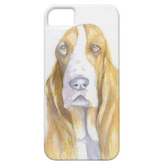 Bassett hound iPhone 5 cases