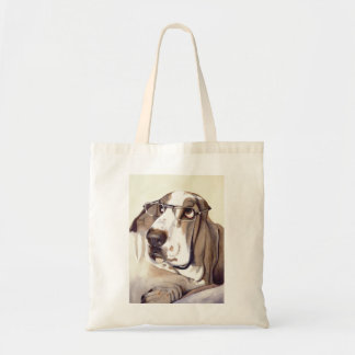 Bassett Hound Painted in Watercolour Tote Bag